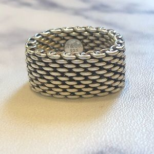 Tiffany & Co. Jewelry - Tiffany & Co. silver mesh ring